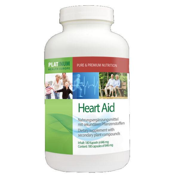 Platinum Heart Aid Dose Nahrungsergänzung Andreas Resch