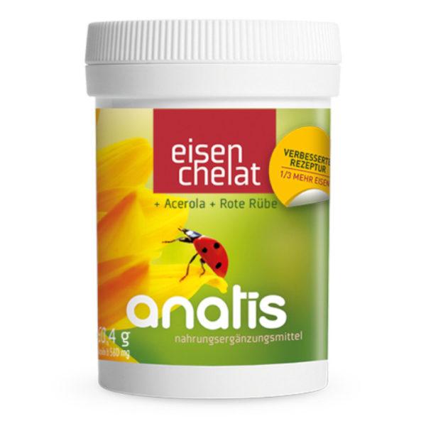 Anatis Eisen Nahrungsergänzung Andreas Resch