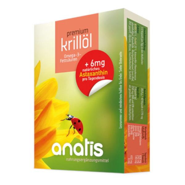 Anatis Krillöl Astaxanthin Nahrungsergänzungsmittel Andreas Resch