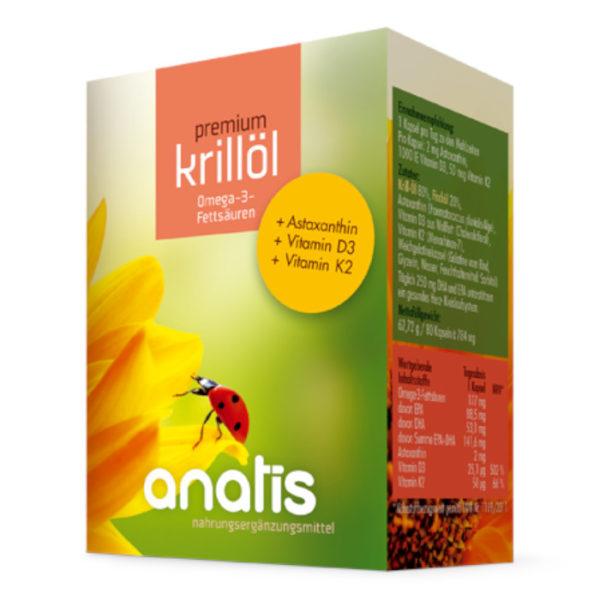 Anatis Krillöl Astataxin Vitamin Nahrungsergänzungsmittel Andreas Resch