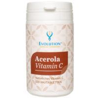 <b>Evolution </b>Acerola Vitamin C Kautabletten