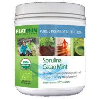 <b>Platinum </b>Cacao Mint Spirulina