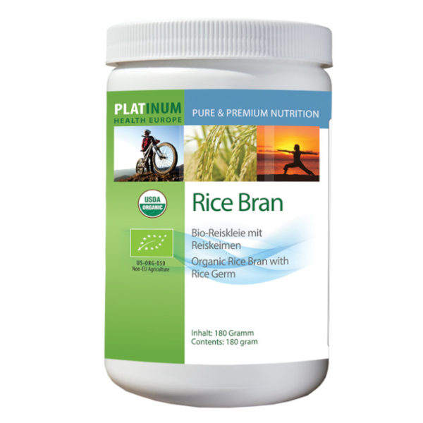 Platinum Reiskleie rice bran