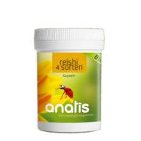 <b>Anatis </b>Bio Reishi 4-Sorten Pilz Bio