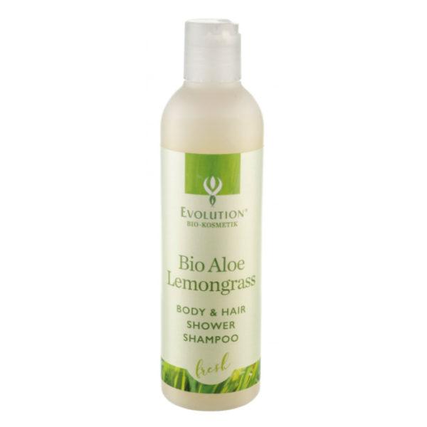 Evolution Bio Aloe Lemongrass Body & Hair Shower Shampoo